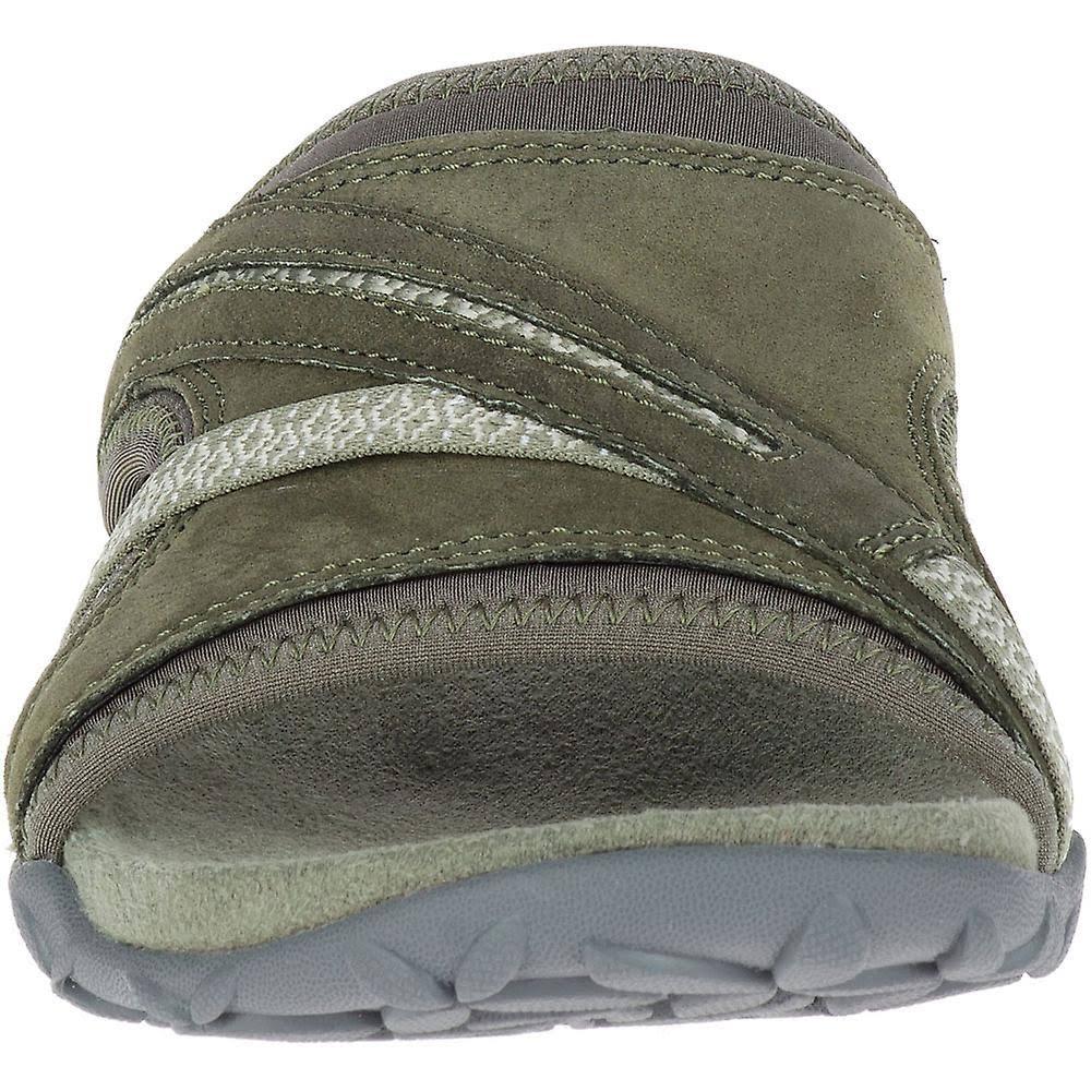 Oiive Slide Green Olive Sandals Womens Terran dusty Ii Dusty Merrell wg0YZnq4