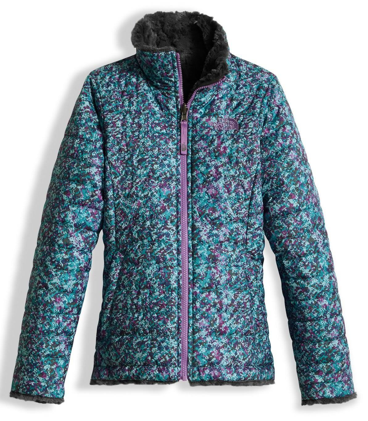 Jacket Periscope Swirl North The Mossbud Face Girls Grey Reversible Xl TqSw0Y7w
