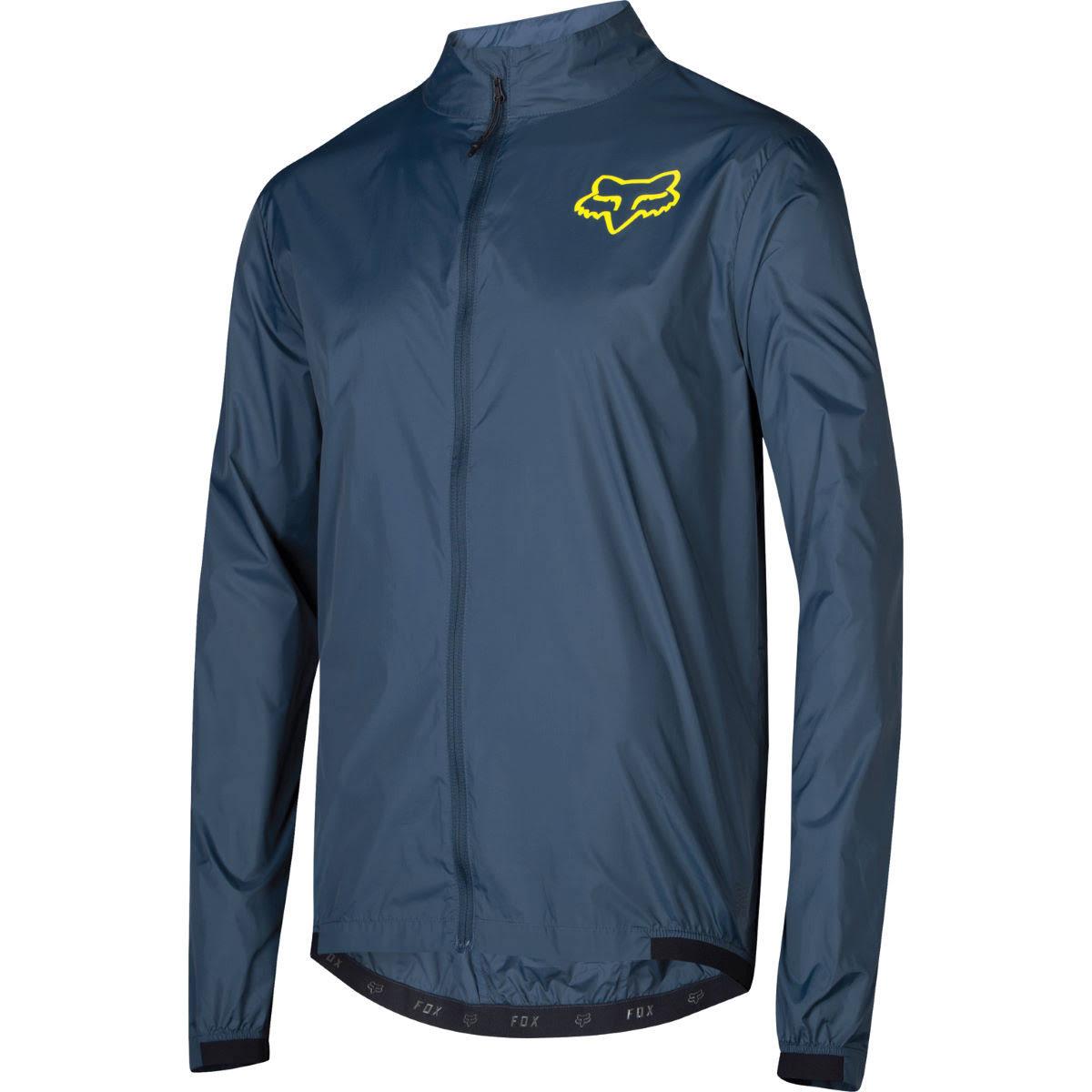Racing Jacket Fox Wind Attack Medianoche Azul Bike s RqqwUt4d