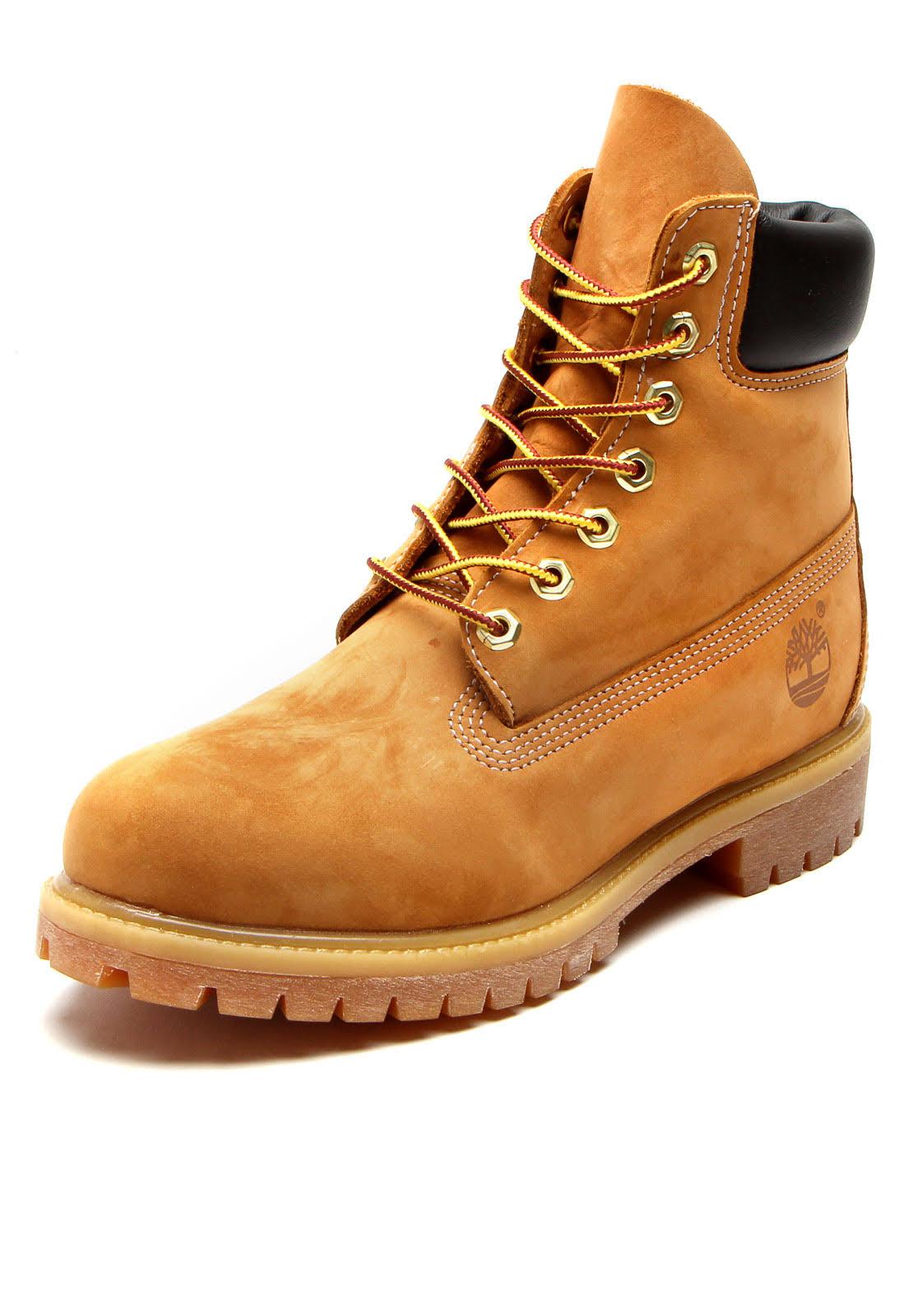 Boot Premium Couro Wp Bota Yellow 6in Caramelo Timberland wzFCXxqt4
