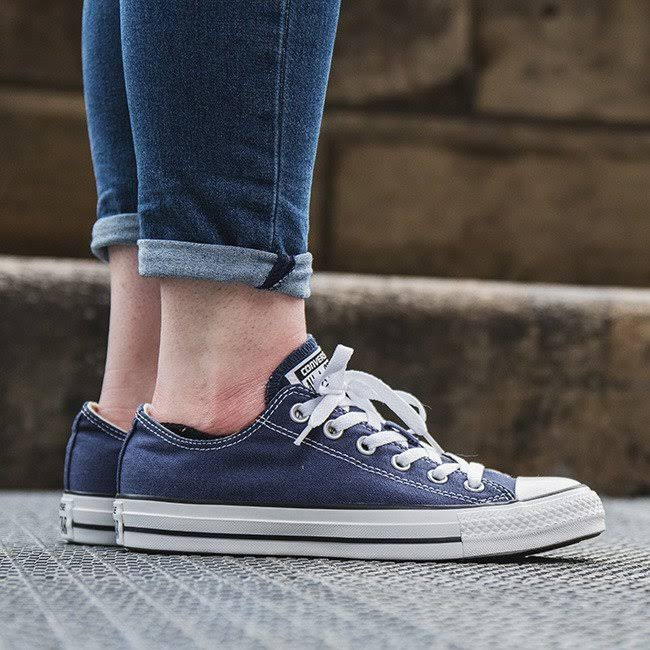Converse Ox Star Trainers All Blue fgY7y6bv