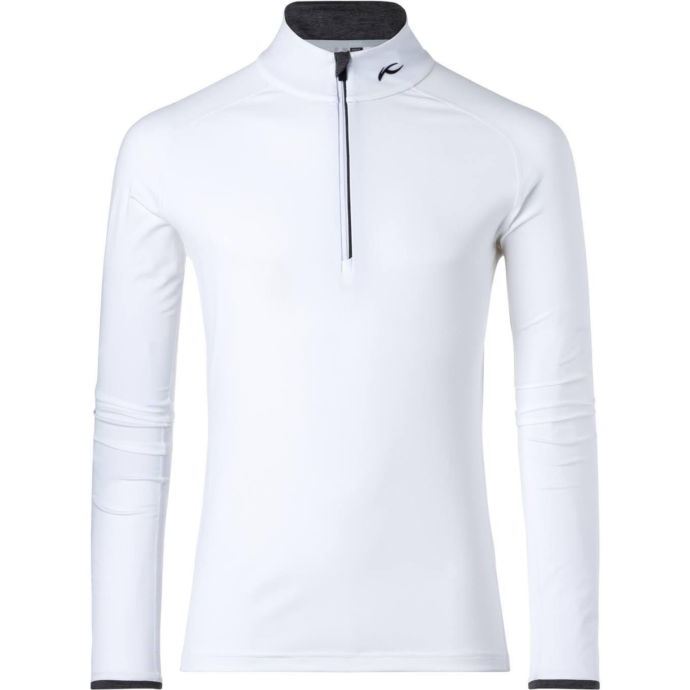48 58 Shirt Halfzip Herren Kjus Weiß Feel wnqZHCWB