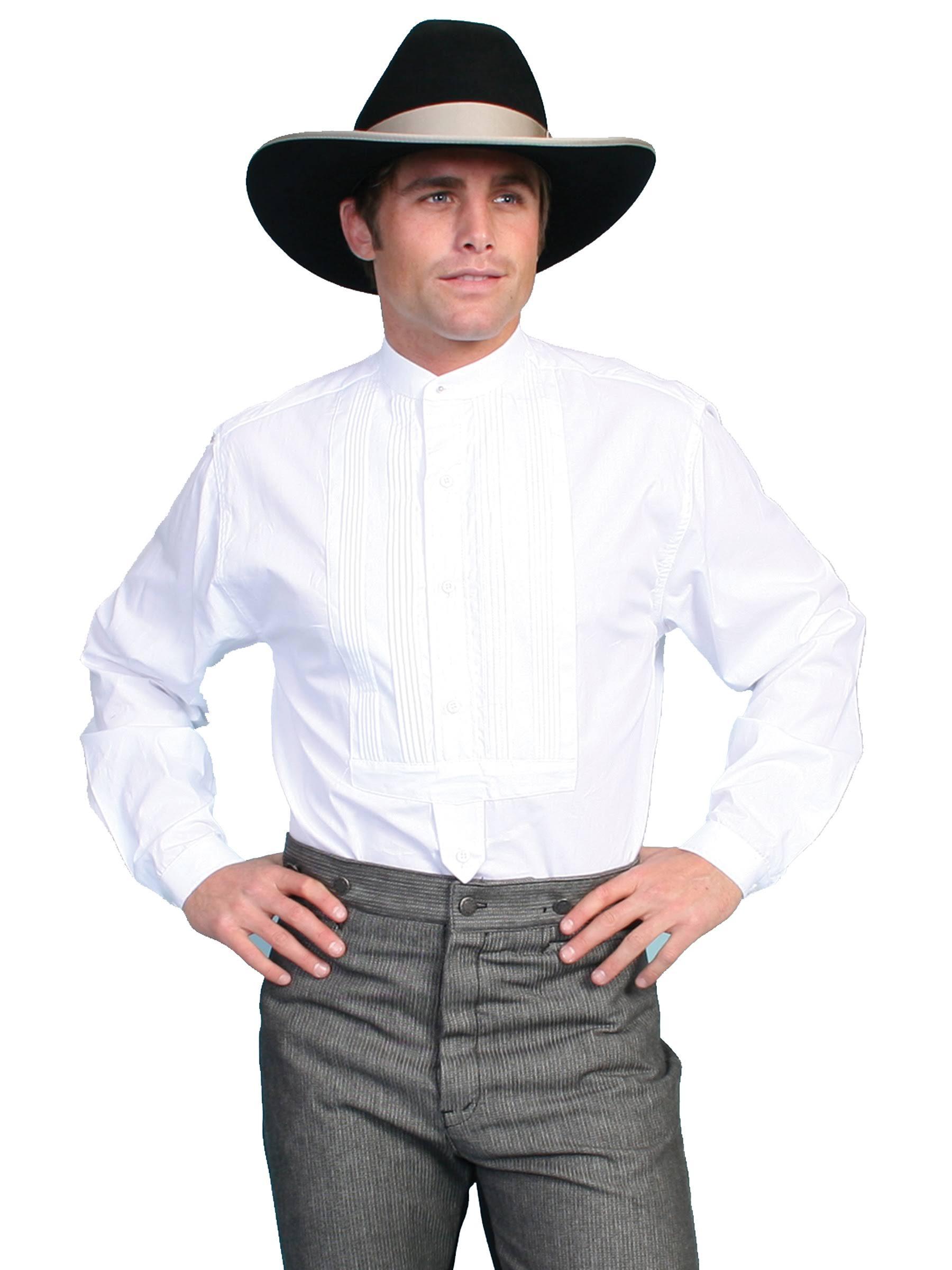 Mit Rw032 xl hemd Gebummeltes Kragen Gambler Weiß wht Scully qYt8aw