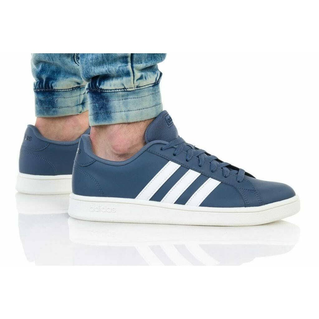 (10.5 (Adults')) Adidas Grand Court EE7908
