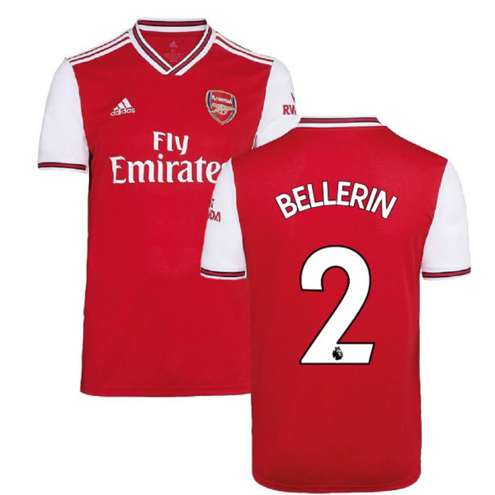 2019-2020 Arsenal Adidas Home Football Shirt (Kids) (Bellerin 2)