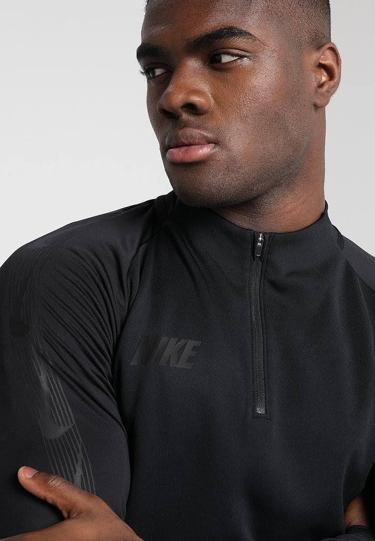 Mediana Dril Nike Performance Camiseta Talla Negra Hombre Para Dry Deportiva cH6PC