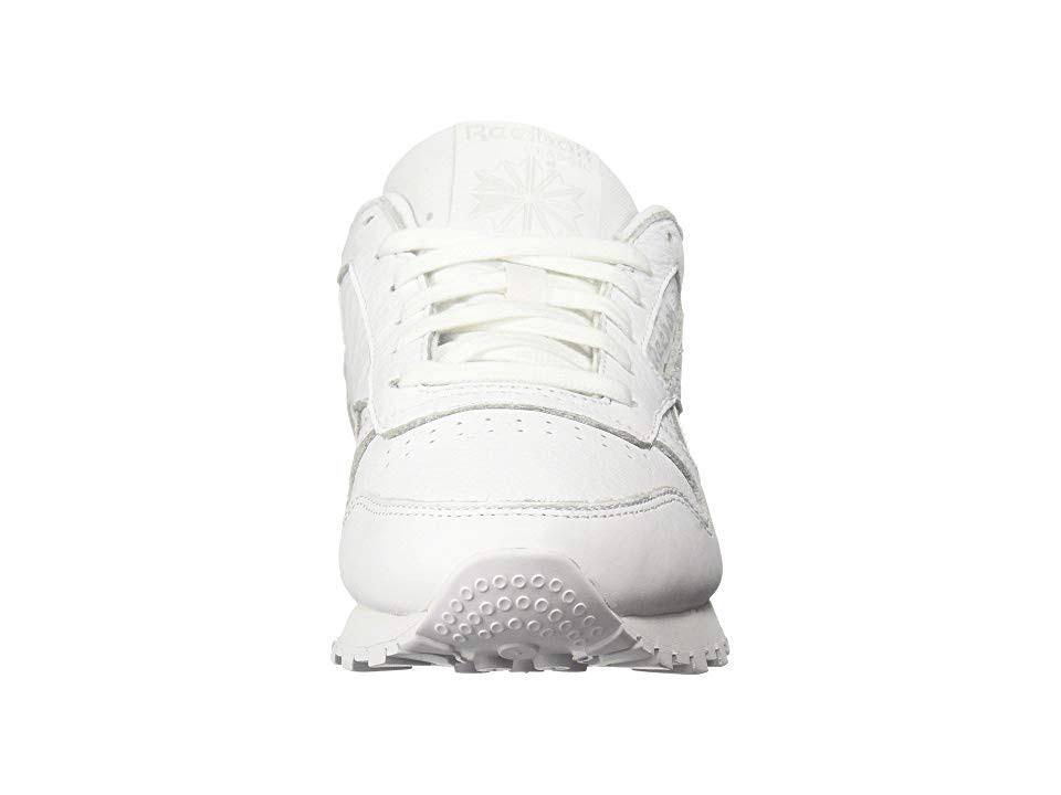 Sneaker Classic Leather 9 Blanco Lifestyle Reebok RtzZawqq