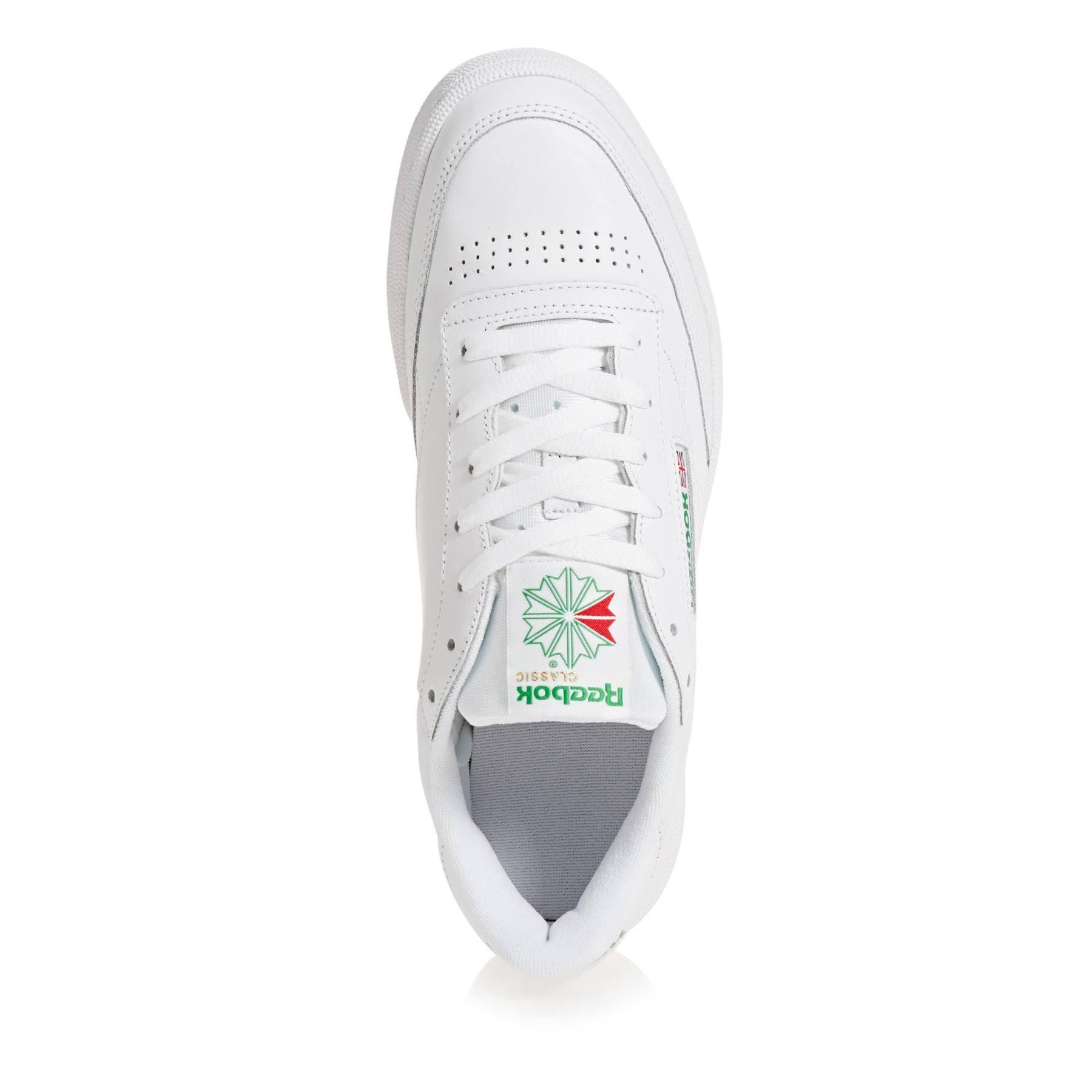 C Club Bianco verde 85 Reebok 8y0vnwmNO