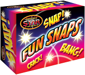 New Original Fun Snaps Paper Throwdown Outdoor Fun Snaps 1 BOX (50 SNAPS) Boys Girls Children Playing item