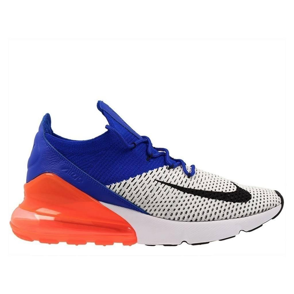 Air Flyknit Max Black White Nike Blue Black racer 270 PqZSxO