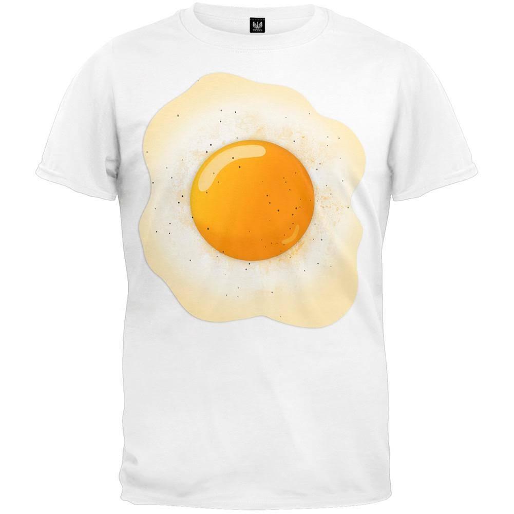 large Weiß Xl Halloween T Costume X shirt Egg Größe wa4U1