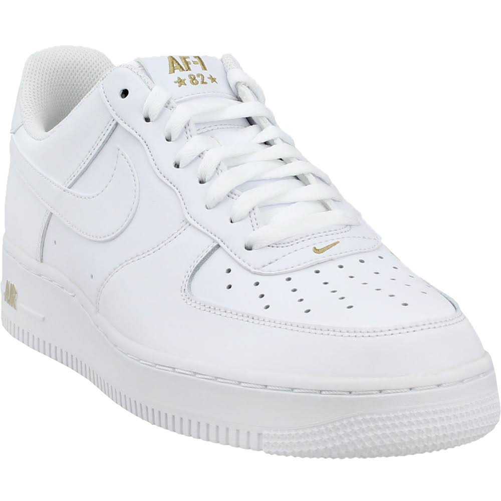 Shoes 13 Black Size Air Force 0 Aa4083102 Gold metallic Mens white Nike 1 Low 102 white HSfqxx8X