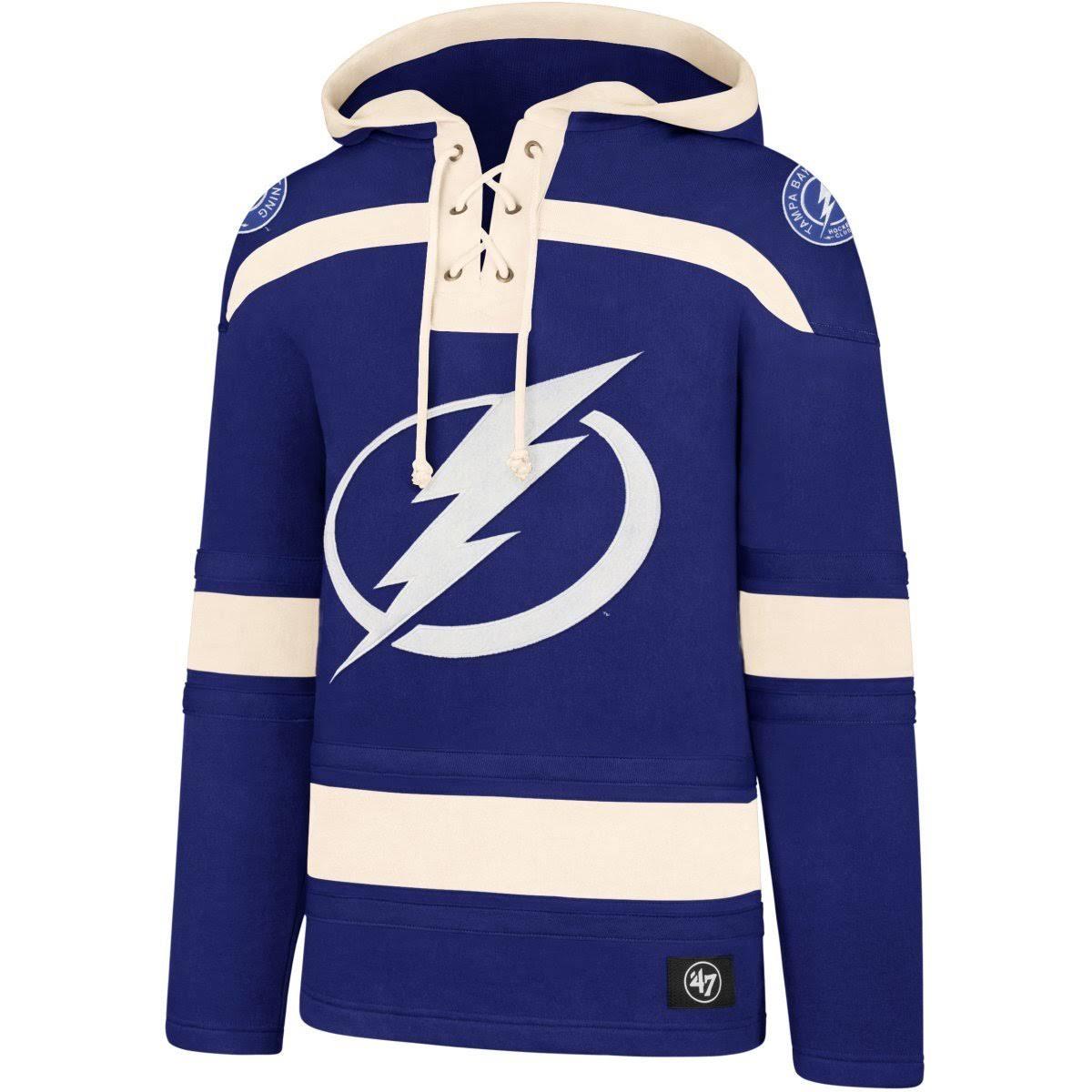 '47 NHL Tampa Bay Lightning Lacer Jersey Hood