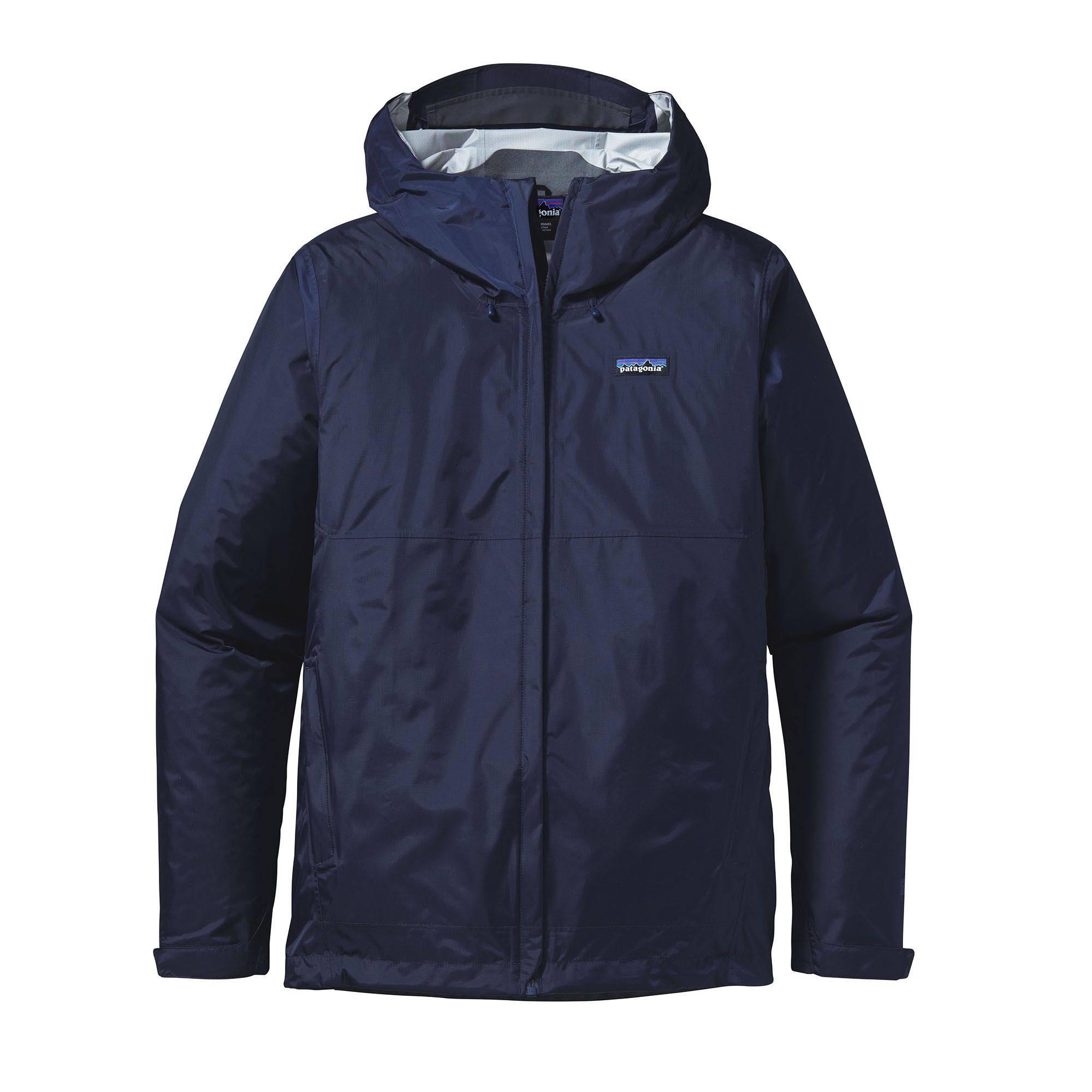 Men Patagonia Blue Torrentshell Navy Size Jacket L 0qwpw7HxtS