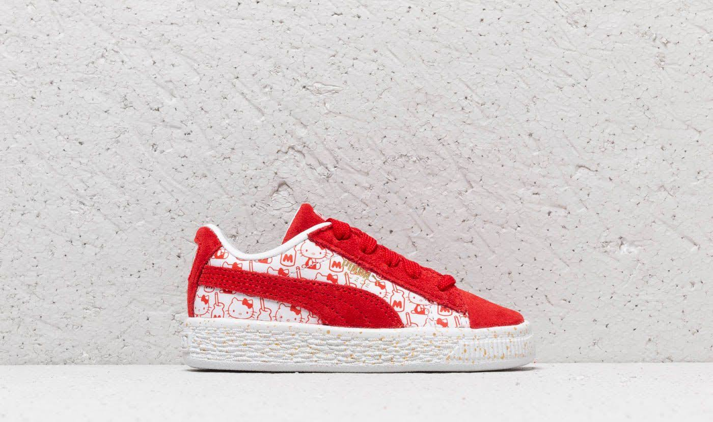 Suede Red Puma Hello Red Bright X Kitty Classic Inf AdnTxZqn1v
