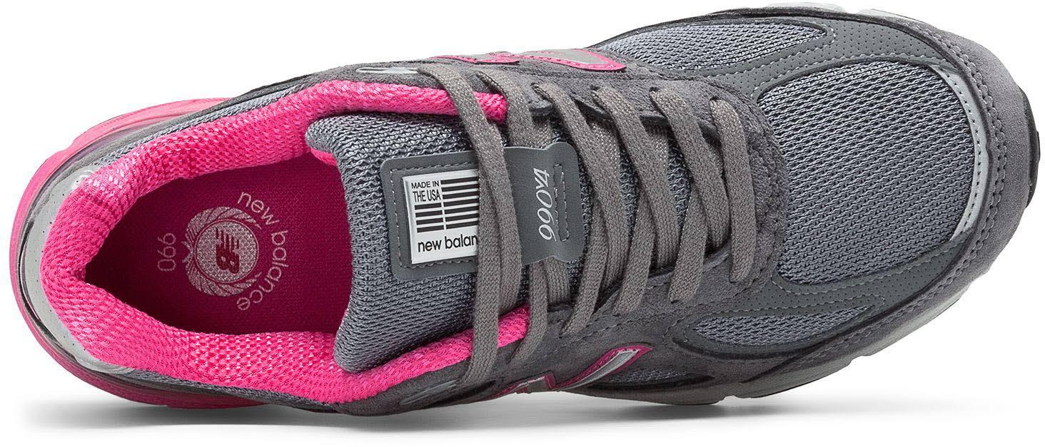 Grey Grey Running 990v4 Shoe pink pink Women's 6 New Balance t8SXw