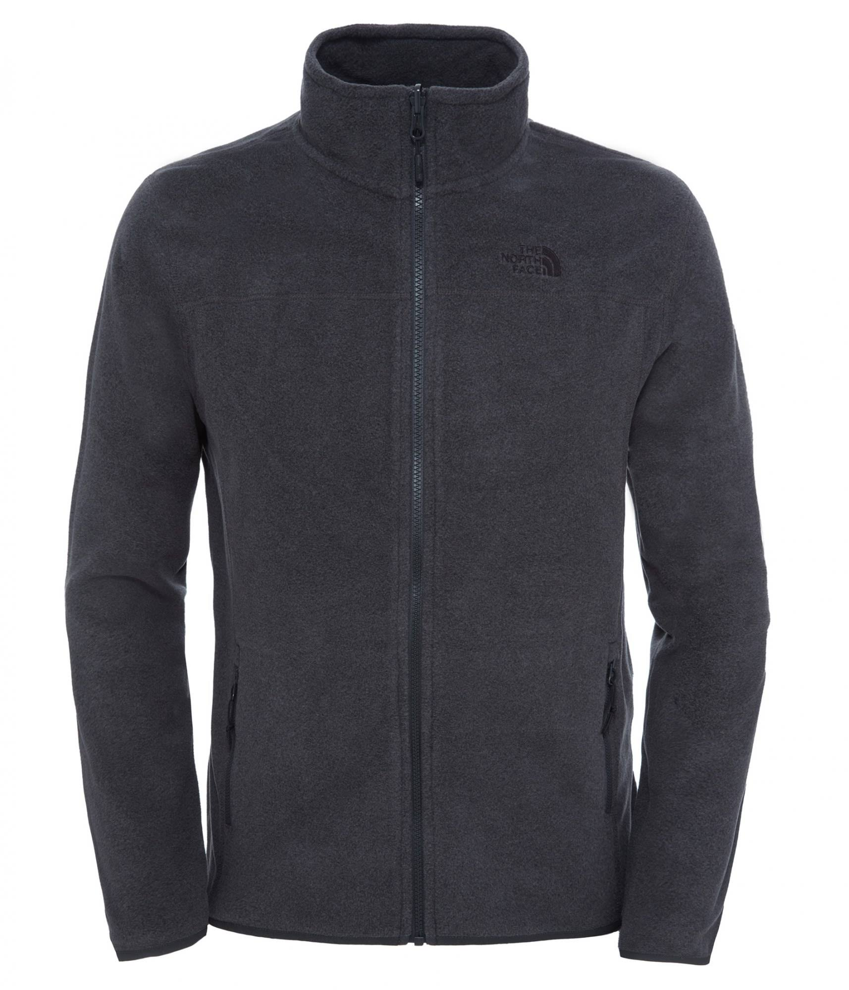100 Fleece Glacier Gray Full Zip North The Jacket Face BqaE1cS