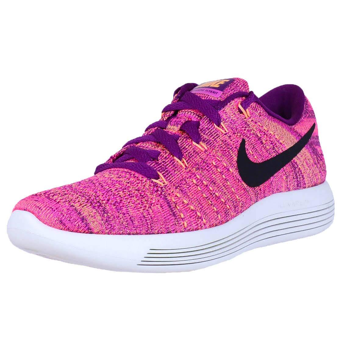 Lunarepic 843765 Schwarz Flyknit Low feuer Bright Nike 500 Grape Pink aZqdxpaw