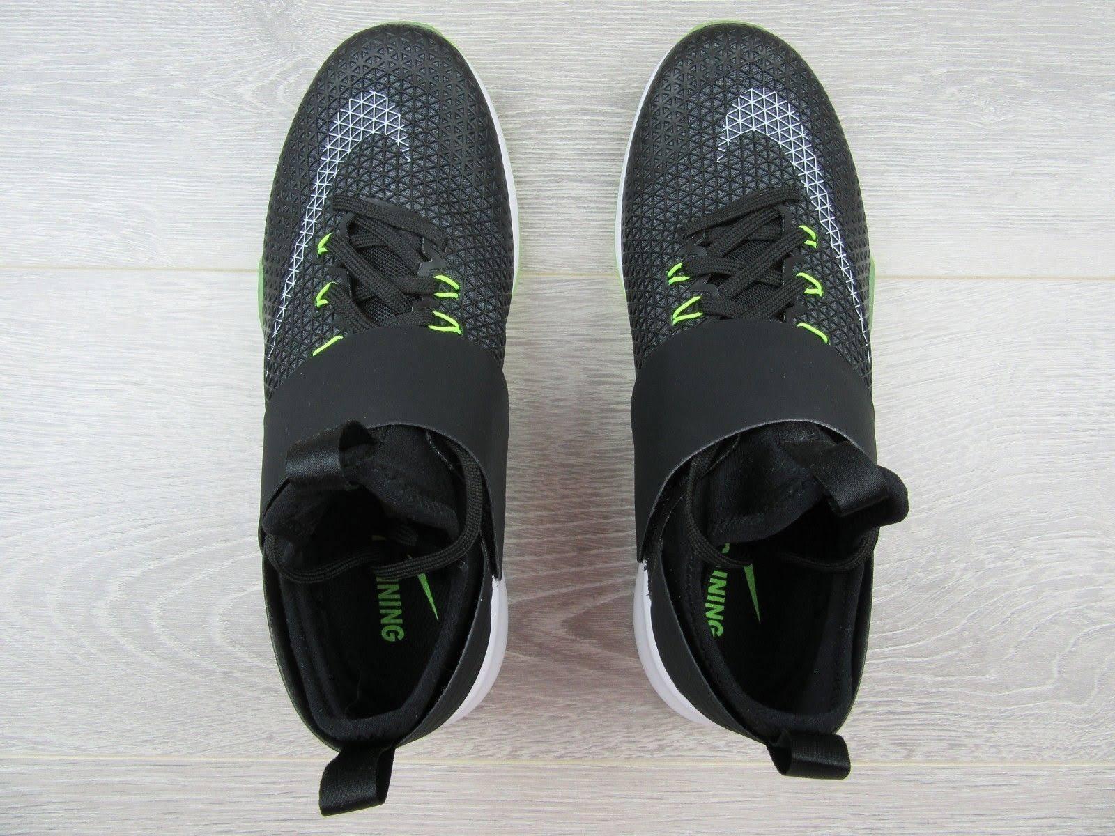 Blanco De Gris Voltio Zapatos Strong 843975001 Zoom Air Nike Negro 5 Tamaño 6 Mujer oscuro xpqPSn