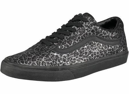 Gr Old Schuhe Schwarz 5 Skool Damen Leopard Vans Schwarz 36 Sneaker metallic ScaYfHfW