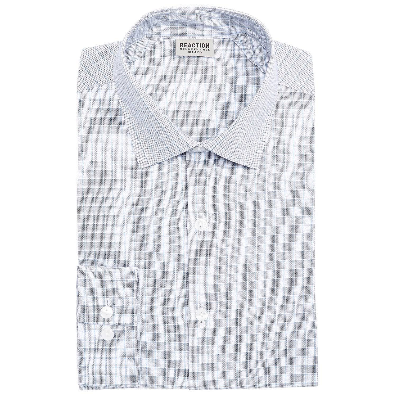 Azul Vestir Camisa Multi Slim Cole De Kenneth Flex Fit xpffPU