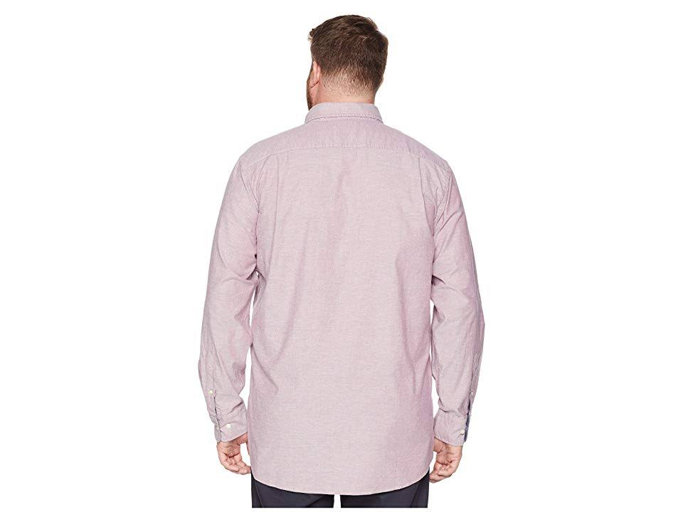 Para Camisa Big Hombre Estiramiento Rojo amp; Oxford De 4xlt Tall Nautica RrRY4Bx