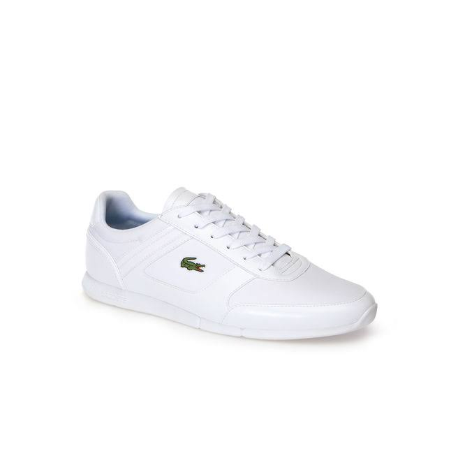 Weiß Synthetik Blau Sport Sneaker Menerva Lacoste qUvtwxznc