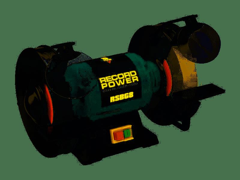 Record Power RPTRPBG6 RPBG6 Bench Grinder 6in