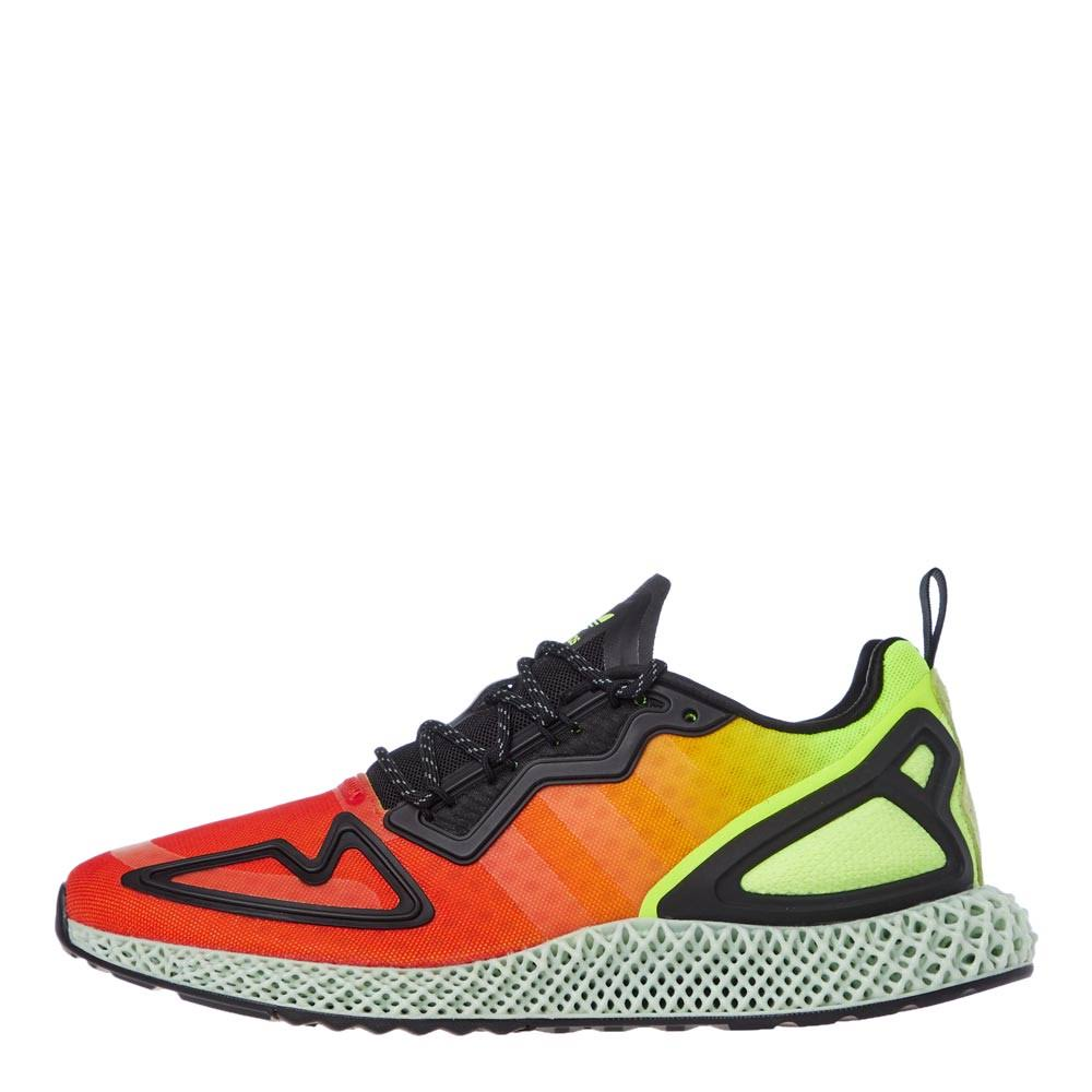 Adidas ZX 2K 4D Shoes - Yellow