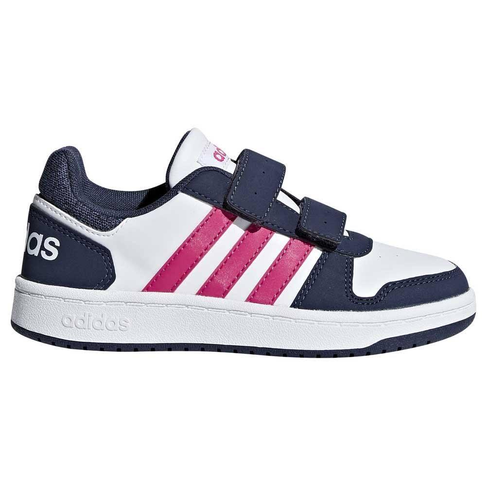 Traceblue Gimnasio Zapatos 2 Cmf Bb7332 Zapatillas Ftwrwhite Blanco Bebé Hoops Realmagenta 0 C Adidas gTwvxc