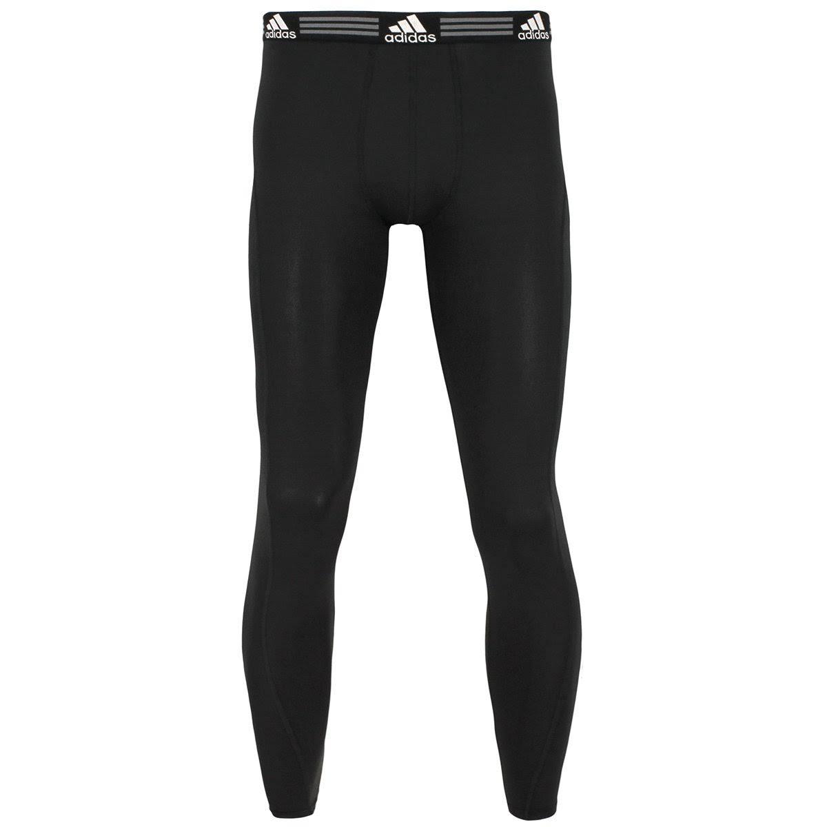 Negro Para Pantalones Adidas Interior Ropa Sola De Climalite Una Hombres Xl Base W6vaSq
