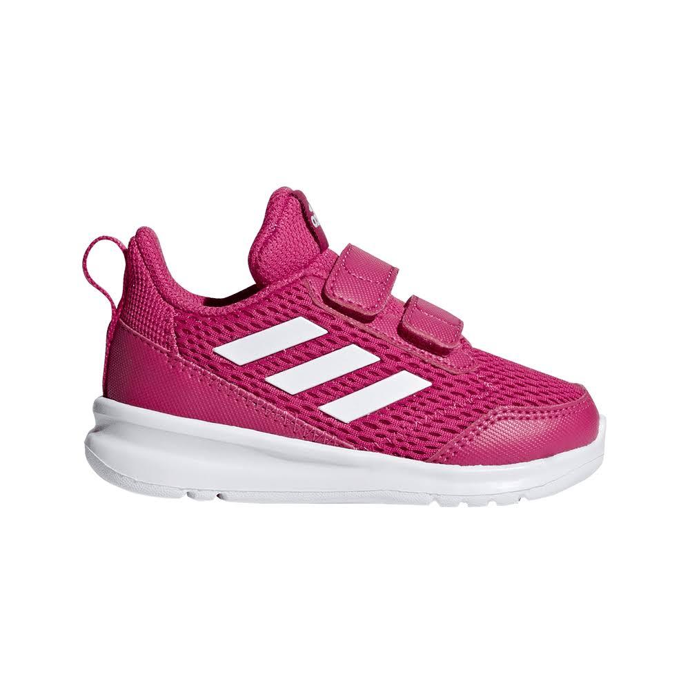 Adidas Infant AltaRun Shoes Size: UK 5c, Colour: Magenta