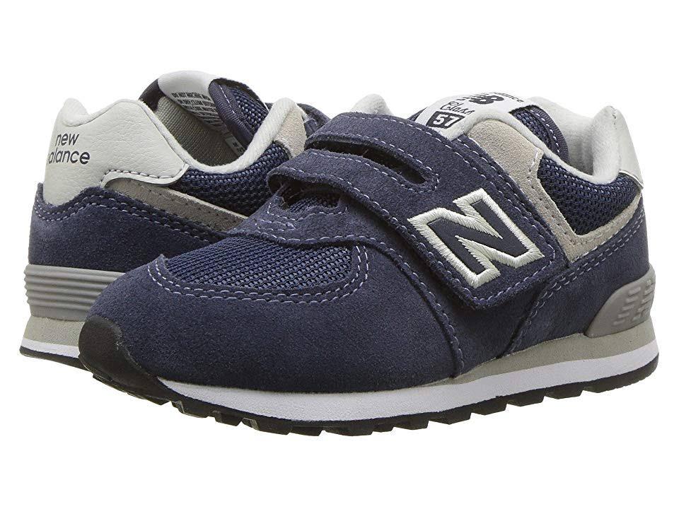 Con New Sneaker Azul Lazo Essentials Balance Kids Gris Gancho Marino '574v1 Y SXxSr
