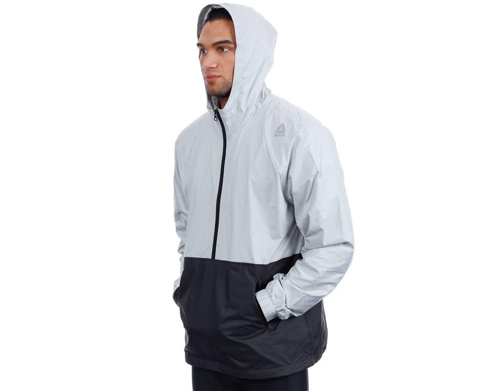 Lm Reebok grå Svart Jacket Kläder Male fn4q6nH