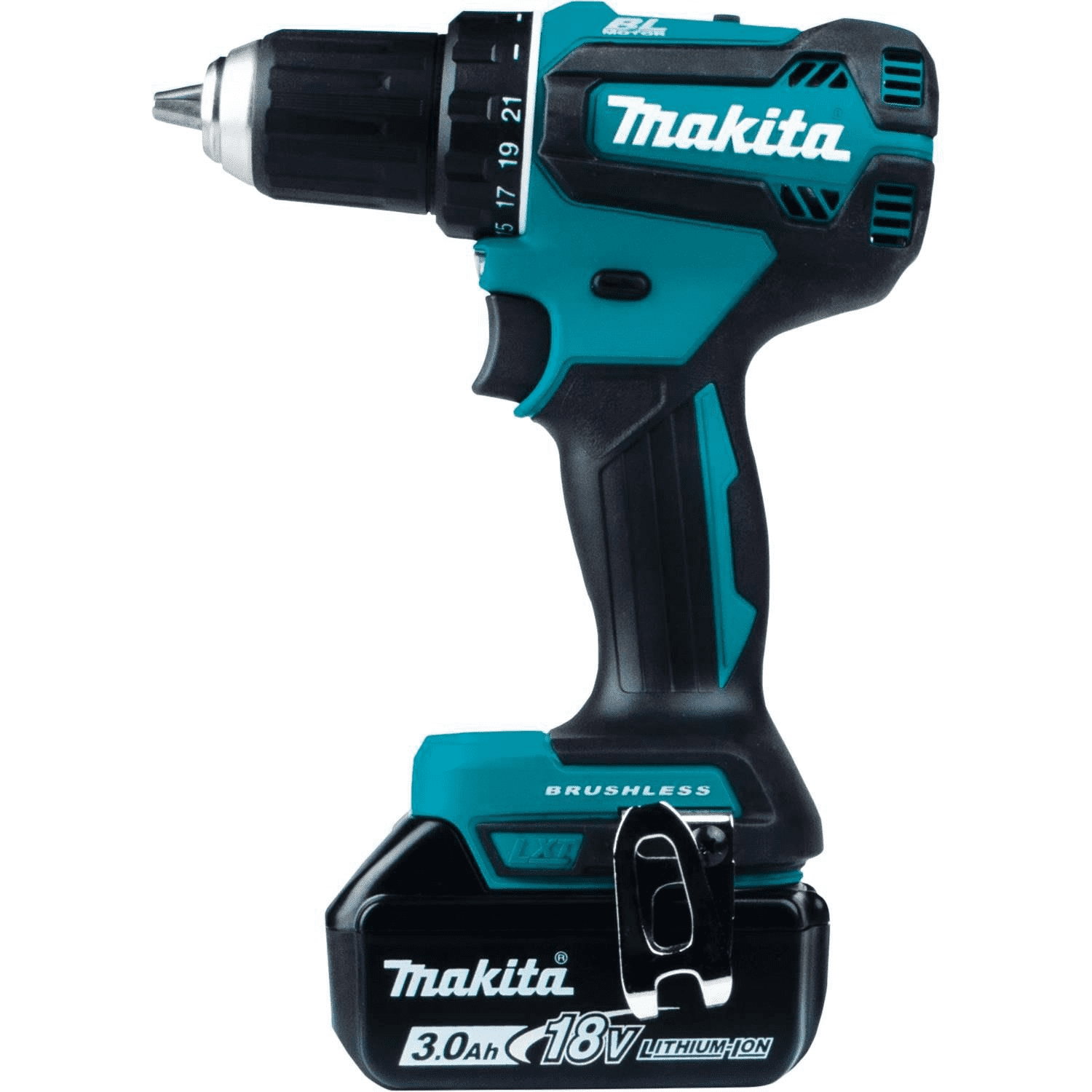 "Makita 18V LXT Lithium-Ion Brushless Cordless 1/2"" Driver-Drill Kit XFD"