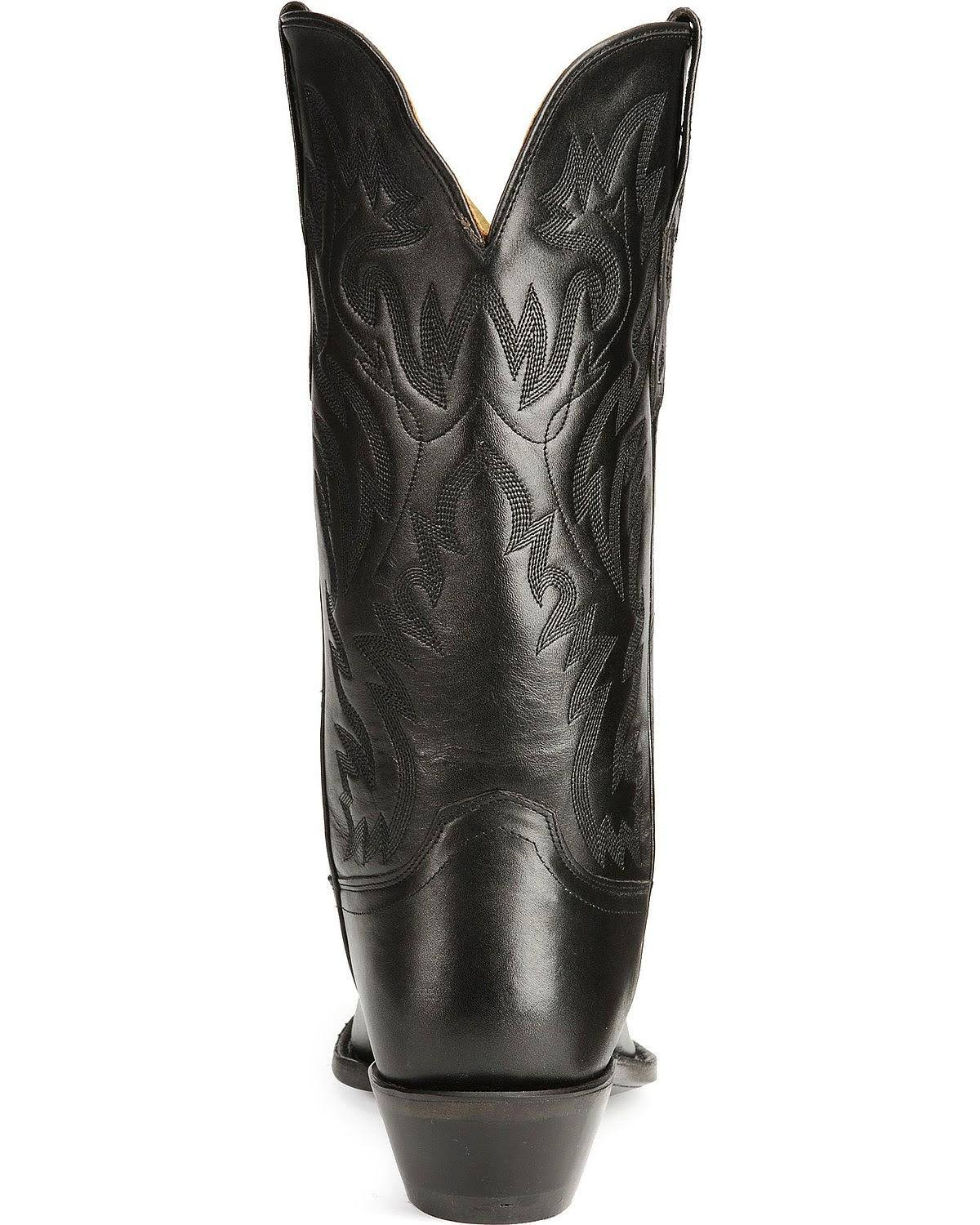 West Mens Mf1510 nera pelle Old in Boots Snip cuciture Cowboy Toe XOZkPiu