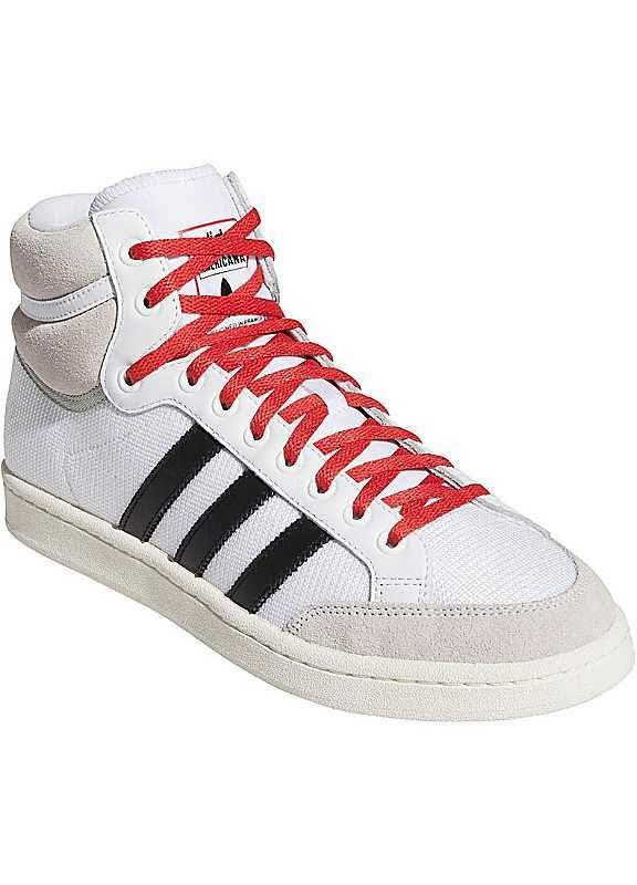 Adidas Originals 'Americana Hi' Trainers - White/Black