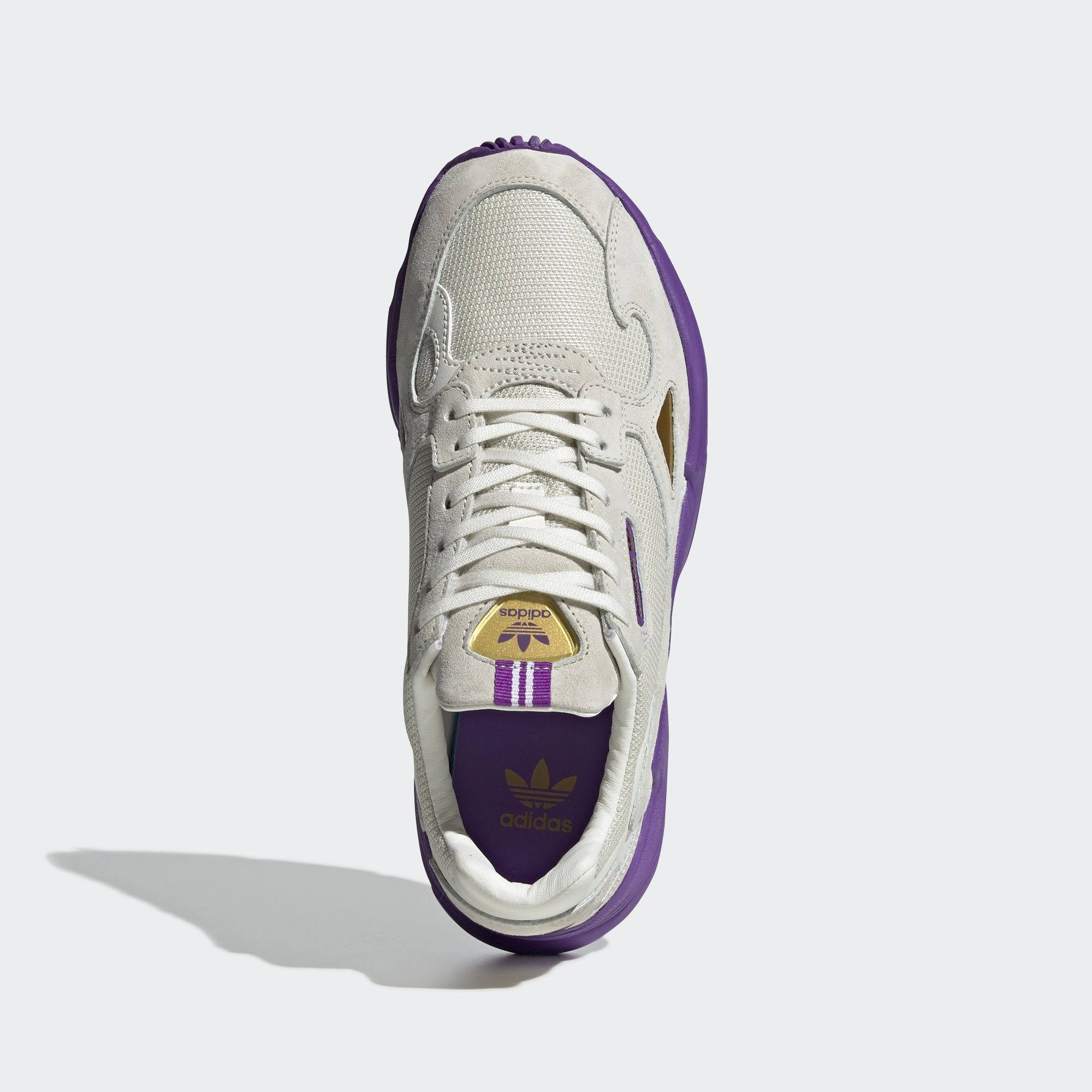 Purple Tfl Falcon Adidas Metallic White Gold Elizabeth OFCqvwx