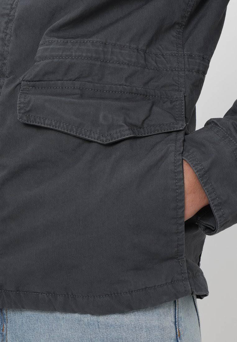Carbon Superdry Jacket Hombre Mediano Summer Tamaño Gris TTvqwaEA