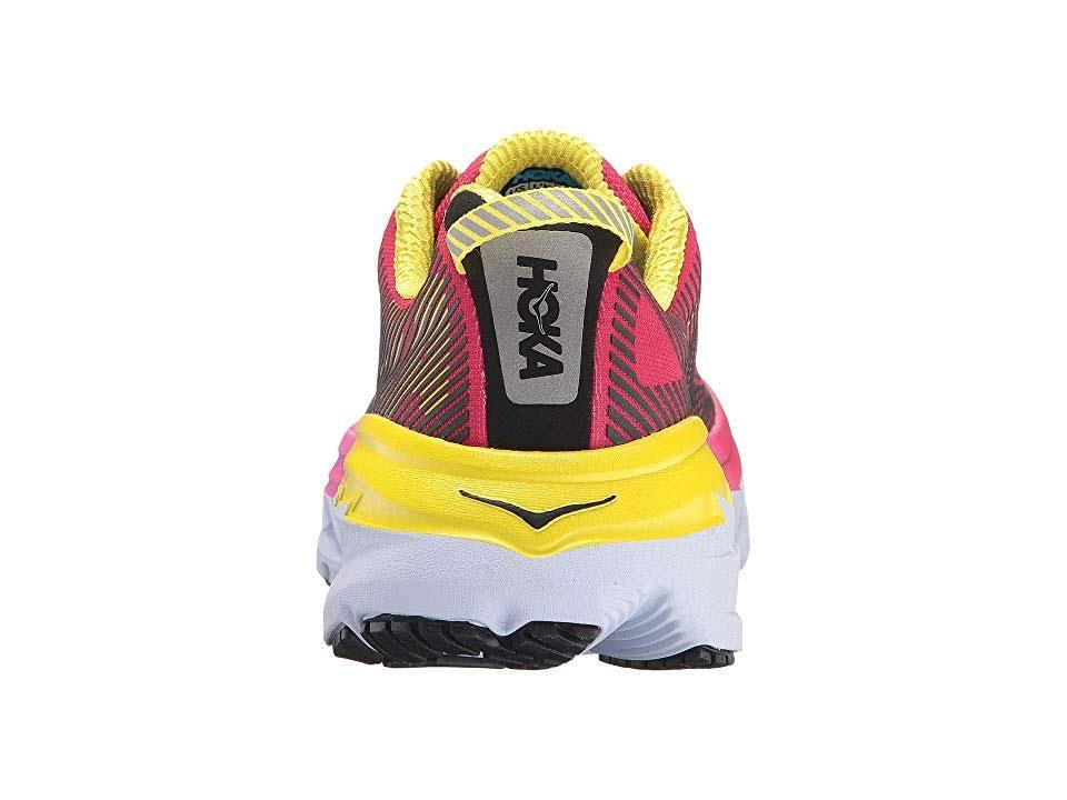 5 Amarillo Brillante Zapatos B Rosa Hoka Para Virtual One Mediano Mujer Bondi Correr fTxpqfSw