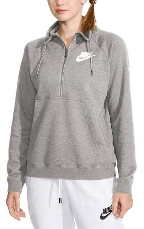Half Fleece Nike Gris M zip Sportswear Rally Top wqgp6gT