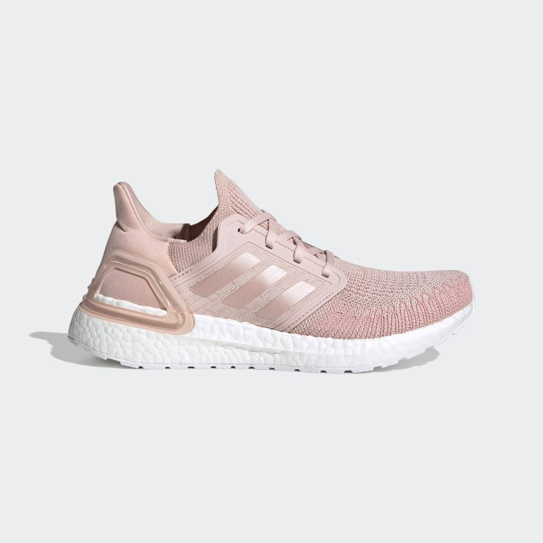 Adidas Performance Ultraboost 20 Shoes - Vapour Pink - Womens