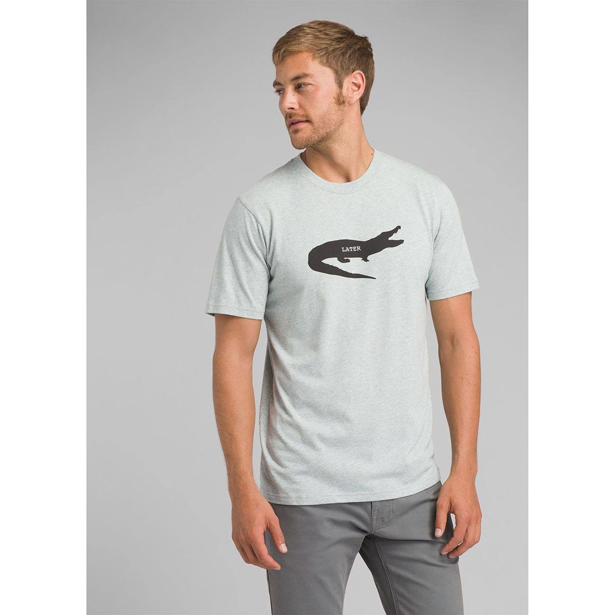 Camiseta Prana Heather Lateral L Journeyman Gator Gris Hombres Agave ffFrqBn1