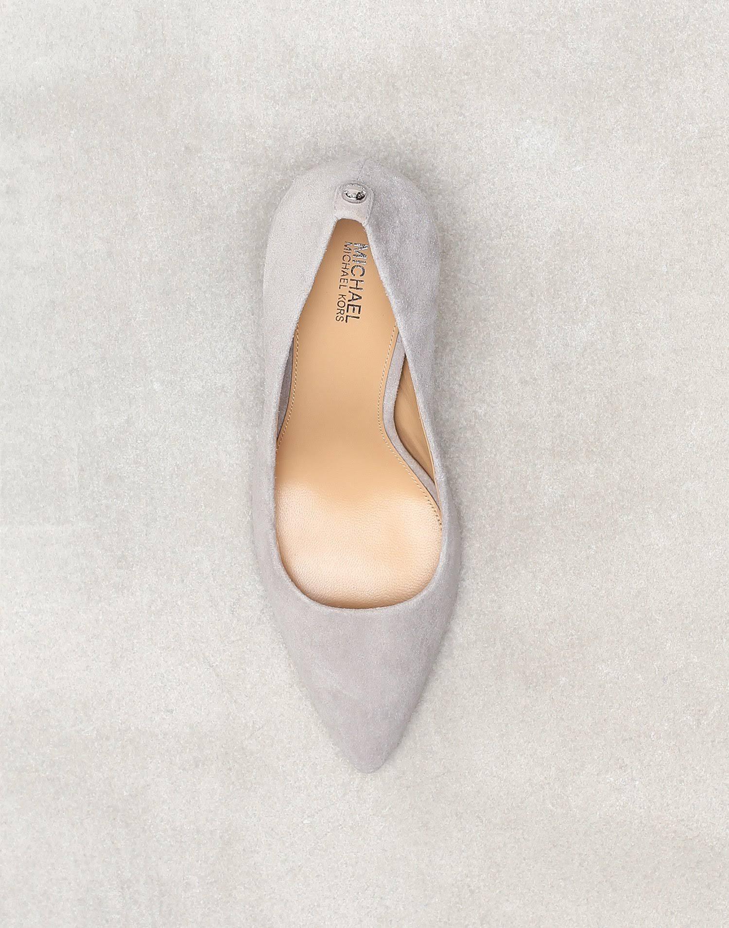 Michael Michael Kors Classic heels pearl grey, gender.adult.female, Size: 4, Light grey - Suede  Culs1R