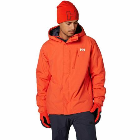 Elástico Prueba Hombre Impermeable A Trysil Para Chaqueta Aislado Naranja De Helly Hansen Con Esquí Aislamiento Viento wYqSPP