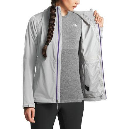 Xs The Stretch Medio Allproof Jacket Gris Mujeres Face North Para OnTxOz