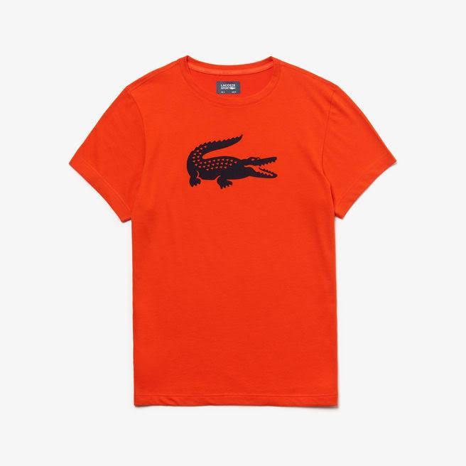 Azul Camiseta De Rojo Marino Lacoste Hombre Jersey Para Técnica Sport Tenis q6wrCzq