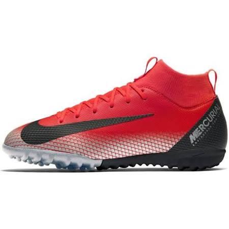 Cr7 Kırmızı Çocuk Superflyx Kramponu Jr 6 Saha Halı Genç Academy Nike IwP1qv