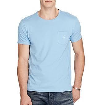 Polo Ralph Regular Mit Jerseytasche Lauren shirt Xl T Herren Blue Nantucket rrwdHx6qfv