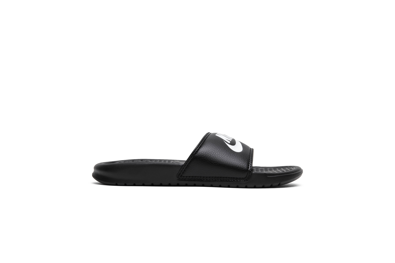 Sandalias Para 10 Medianas Benassi Antideslizantes Jdi Blanco Nike Hombre Negro ORg1wqO
